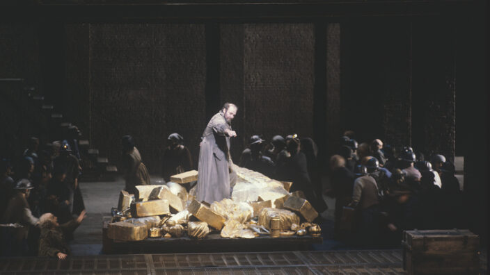 Wagner Rheingold Jahrhundertring Chereau Boulez Bayreuther Festspiele 1980